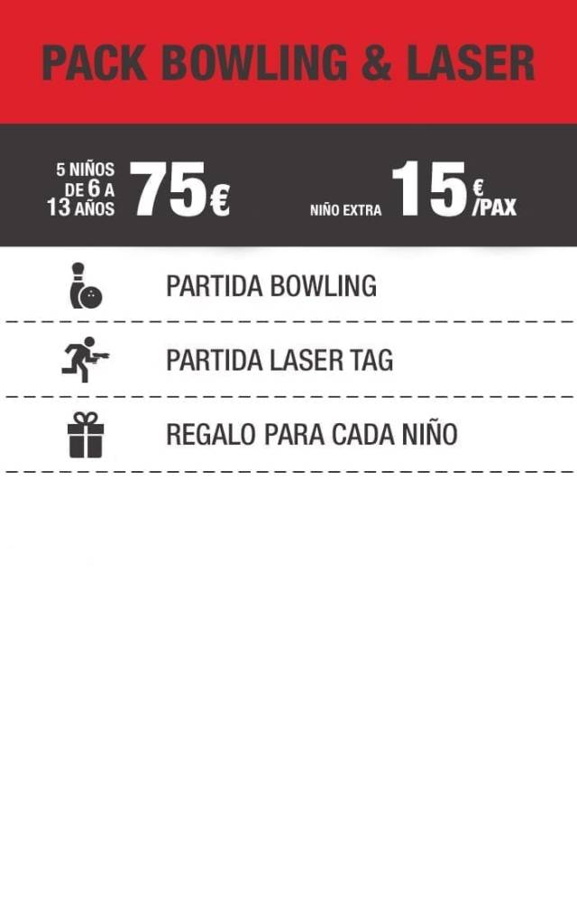 Bowling and laser
