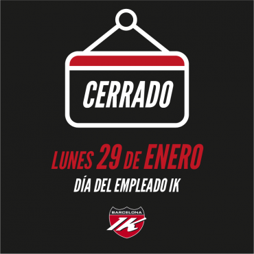 LUNES 29 ENERO CERRADO