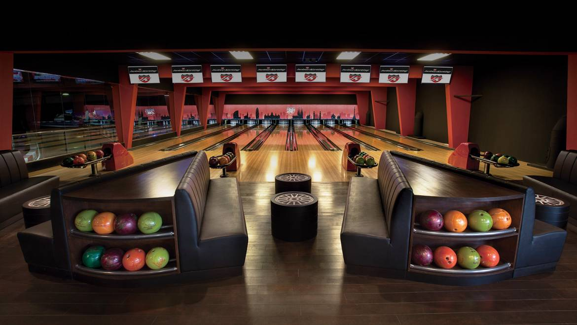 BRAND NEW BOWLING  ALLEY