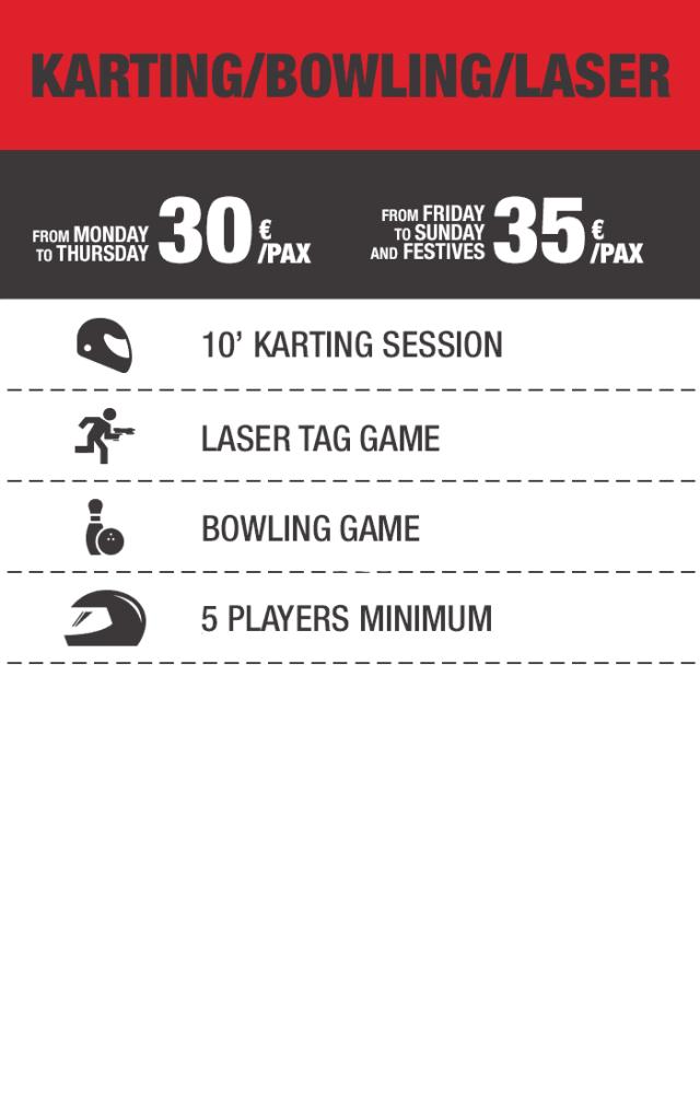 Karting Bowling Laser